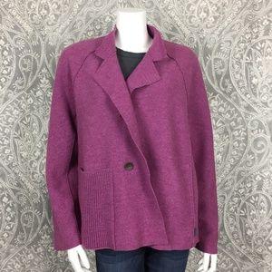 NWOT OSKA Arasi Violet Wool Jacket Size 2 M/L